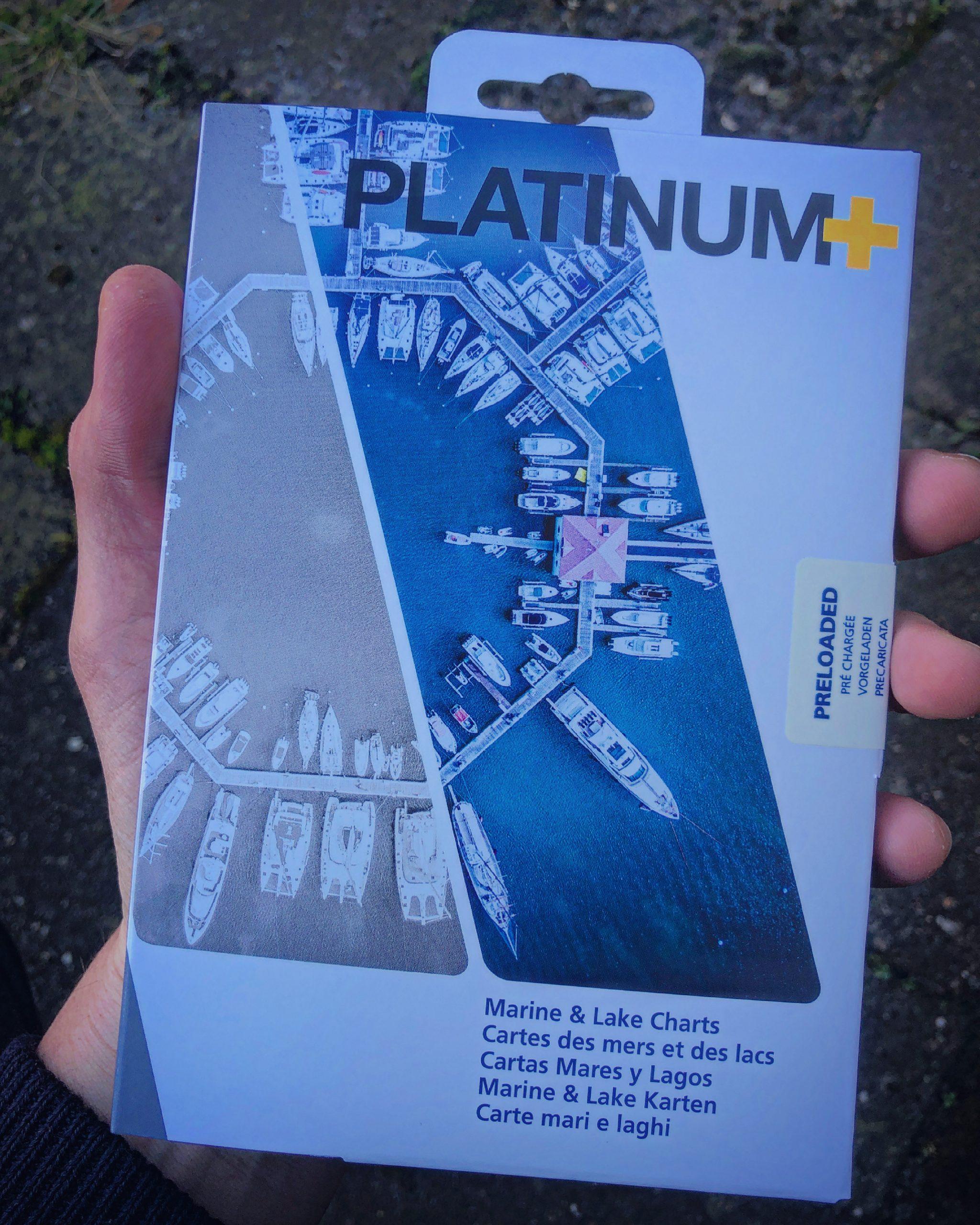 Navionics platinum+ map